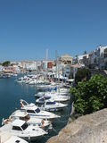 Ciutadella Harbour View Stock Photography