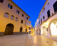 Ciutadella Menorca Ses Voltes arches Ciudadela Stock Images