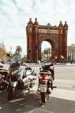 Ciutadella Parc ist ein Park in Bezirk Ciutat Vella, Barcelona-Stadt stockbilder