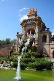 Ciutadella-Park in Barcelona lizenzfreie stockfotos