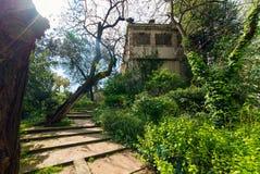 Ciutadella-Park in Barcelona stockbilder
