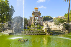 Ciutadella park in barcelona Stock Photography