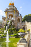 Ciutadella park in barcelona Stock Photos