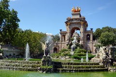 Ciutadella Park in Barcelona Stock Images