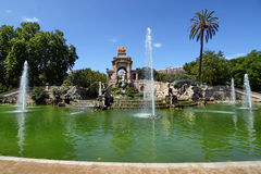 Ciutadella Park in Barcelona Royalty Free Stock Images