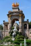 Barcelona, Spain. Fountain Monumental in Park Ciutadella, Barcelona, Spain stock image