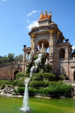 Barcelona, Spain. Fountain Monumental in Park Ciutadella, Barcelona, Spain royalty free stock photos