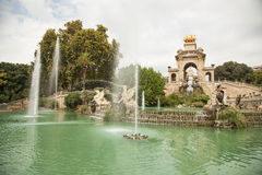 Ciutadella Park in Barcelona Royalty Free Stock Image
