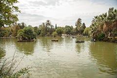 Ciutadella Park in Barcelona Stock Photos