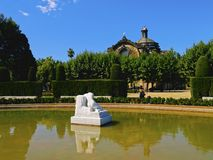 Ciutadella Park in Barcelona Royalty Free Stock Photo