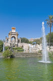 Ciutadella Park in Barcelona, Spain Stock Images