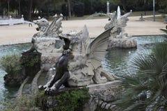 Ciutadella Park Stock Image