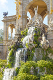 Ciutadella park sculptures Royalty Free Stock Photos