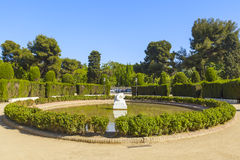 Ciutadella pond Royalty Free Stock Photography