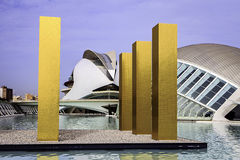 Ciutat de leas Arts i les Ciencies, Valencia, Spain. Stock Photography