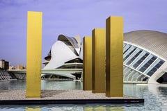 Ciutat De Leas Sztuka ja les Ciencies, Walencja, Hiszpania Fotografia Stock