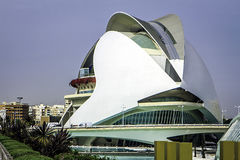 Ciutat de les Arts我les Ciencies,巴伦西亚,西班牙 库存图片