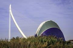 Ciutat de les Arts ι les Ciencies, Βαλένθια, Ισπανία Στοκ Φωτογραφίες