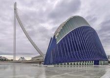 Ciutat de les Arts i les Ciències, Valencia, Spain. Europe and the aquarium Royalty Free Stock Images
