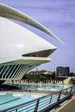 Ciutat de les Arts i les Ciencies, Valencia, Spain. Royalty Free Stock Photo