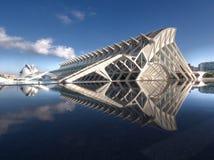 Ciutat de les Arts ι les Ciències Στοκ Φωτογραφίες