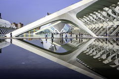 Ciutat de les Arts ι les Ciencies Στοκ φωτογραφία με δικαίωμα ελεύθερης χρήσης