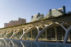 Ciutat de les ciencies in Valencia, Spain. Royalty Free Stock Image