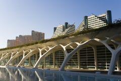 Ciutat de les ciencies in Valencia, Spain. Valencia, Spain. Cultural Arts Center Designed By Santiago Calatrava Royalty Free Stock Image