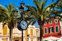 Ciutatella de Menorca center Royalty Free Stock Photography