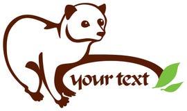 Civet ilustração stock