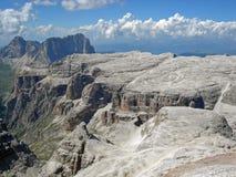 Civetta från Piz Boe, Dolomites Fotografering för Bildbyråer