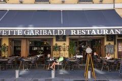 Civette Garibaldi restaurant in Nice, France Stock Image
