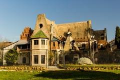 Civettess hus Arkivbild