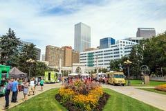 Civic Center park in downtown Denver Stock Image
