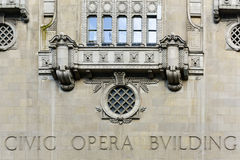 Civic Opera Building - Chicago Stock Images