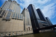 Civic Opera House in Chicago. Stock Image
