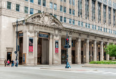 Civic Opera House in Chicago, today it is the permanent home of the Lyric Opera of Chicago Stock Photo