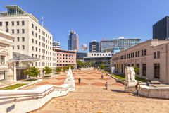 Civic Square, Wellington Royalty Free Stock Photography