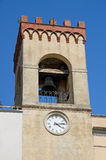 Civic Tower. Castiglione del Lago. Umbria. Stock Photography