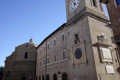 Civic tower of macerata Royalty Free Stock Images