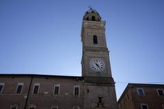 Civic tower of macerata Royalty Free Stock Photo