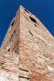 Civic tower in the Malatesta fortress in longiano Royalty Free Stock Photos