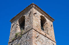 Civic tower. Montebello. Emilia-Romagna. Italy. Royalty Free Stock Image