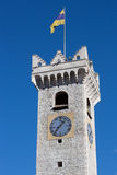 Civic Tower of Trent - Italy Stock Photography