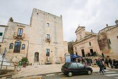 Civica di Torre in Cisternino, Puglia, Italia del sud Fotografia Stock Libera da Diritti