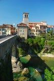 cividale del Friuli,意大利 图库摄影