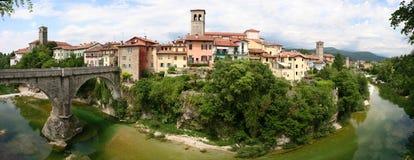городок cividale del friuli средневековый Стоковая Фотография RF