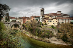 Cividale del Friuli in early spring Royalty Free Stock Photos