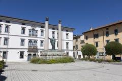 Cividale del Friuli Foro Giulio Cesare Square royalty free stock photo