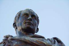 Cividale del Friuli, head of a statue Royalty Free Stock Photos